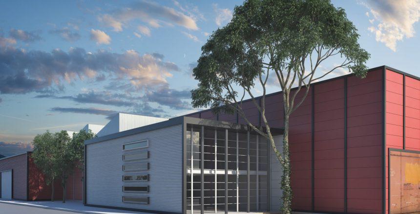 Alcance: Proyecto Giro: Industrial Cliente: Transportes Masetto Se diseño la nueva base y taller de la empresa de logística y transportes Masetto, implementando BIM para lograr un solo modelo la interacción de diseño-visualización-presupuesto.